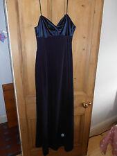 Stunning Midnight blue bridesmaid/evening dress size 14 - worn once