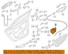 AUDI OEM 10-16 Q5 Rear Door-Lock Actuator Motor 8K0839016G