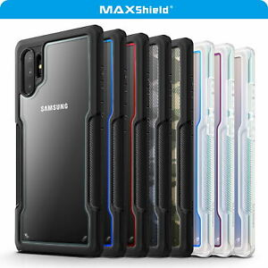 For Samsung Galaxy Note 10 Plus 5G Case, Heavy Duty Shockproof Clear Slim Cover