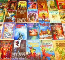 "FANTASY Paperback Book Lot ""INSTANT COLLECTION"" Free Shipping"