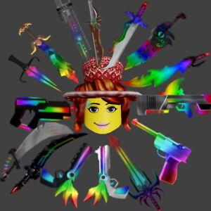 (NEW ITEMS) Murder Mystery 2 Knives & Guns (READ DESC)