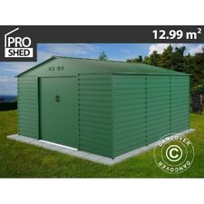 Garden shed 3.4x3.82x2.05 m ProShed®, Green