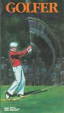 Golfer  Home Broadcast Network VHS Very Good Sam Snead, Tim Conway