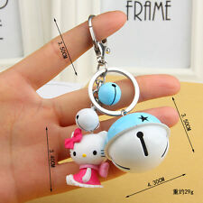 NEW Hello kitty Key chain Modelling of the angel The bell key chain Toy Gift 3