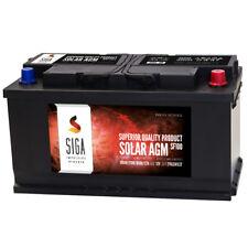 12V 100Ah AGM GEL Batterie Solar Mover Versorgungsbatterie Verbraucherbatterie