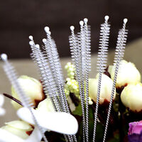 10/5 Pcs Cleaning Brush for Drinking Pipe Stainless Steel Nylon Straw Cleaners