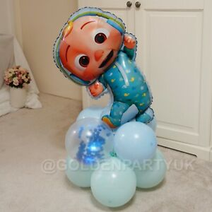Cocomelon Display Stand Balloons Birthday Party Foil Latex Kids Children Decor