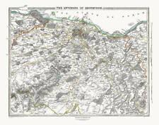 Antique European Maps & Atlases Edinburgh 1800-1899 Date Range