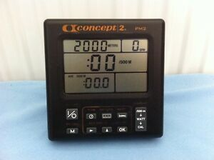 Concept 2 PM2 Rowing Machine Rower Monitor - 3 Month Warranty