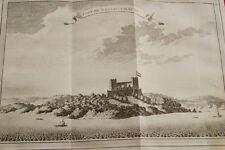 GRAVURE AFRIQUE  GHANA FORT DE NASSAU A MAURI 1747