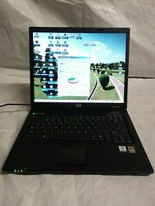 HP Compaq nx6110 Laptop Intel Processor 1.40GHz, 504 MB of RAM, 55.8 Hard drive