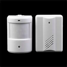 Driveway Patrol Garage Infrared Wireless Doorbell Alarm System Motion Sensor PE