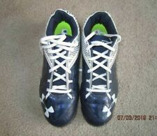 Under Armour Men's size 7.5 Metal Cleats / Baseball Shoes  Worn once!