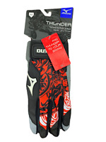 Mizuno Thunder Batting Gloves Brand New Sizes Adult M or Adult L Red/Black/White