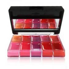 10Colors Long Lasting Set Cosmetic Primer Clear Moisturizing Lip Gloss UK