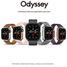 SwitchEasy Odessey Shockproof Metal TPU Case for Apple Watch 6/SE/5/4 40/44mm