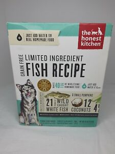 The Honest Kitchen BRAVE LID Grain Free Fish Dehydrated Dog Food 10 pounds