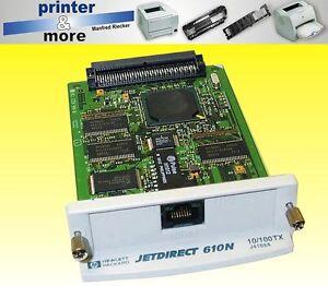 HP Printserver Jetdirect Netzwerkkarte für Laserjet 4000n, 4050n TN 610n