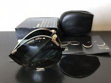 CARRERA PORSCHE DESIGN Vintage Folding Sunglasses Mod. 5629-40(gold) NOS!!