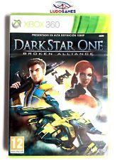 Dark Star One Broken Alliance Xbox 360 Nuevo Precintado Sealed Brand New PAL/SPA