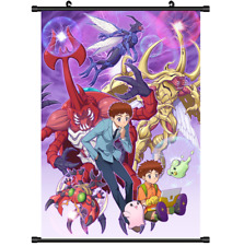 3466 Anime Digimon Adventure Wall Scroll Poster cosplay