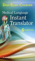 Medical Language Instant Translator, Paperback by Chabner, Davi-Ellen, Brand ...