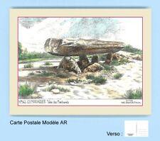 CP AR 56002 CARTE POSTALE DESSIN COULEUR 56 LOCMARIAQUER