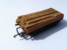 British Trix 5613 OO Gauge Conflat Wagon w/Wood Unboxed
