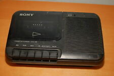 SONY Portable Cassette-Corder Tape Player Recorder TCM-818