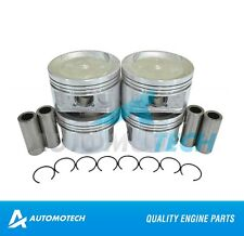 SIZE 040 - Piston Set For Honda Accord Isuzu Oasis A4 2.3L