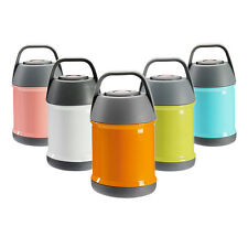 Stainless Steel Food Jar Insulated Lunch Box Container Thermos Soup Mug Handle