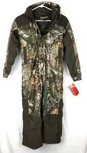 Rocky Youth Boy's Size Large Camouflage Hooded Coveralls