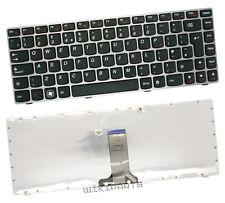 NEW FOR IBM-LENOVO IDEAPAD Z370 1025-27U LAPTOP KEYBOARD UK BLACK COLOUR