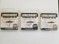Straight Up Jr. - 3 pack 3 Colors - Lunkerhunt - 3/16 oz. Jig - BASS