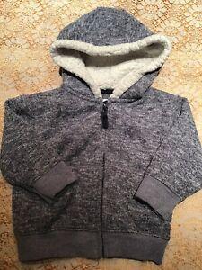 Baby Boys Hoodie.  Next Original Brand, Denim Co, British Design,  Gray