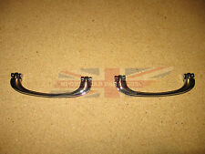 Pair of Brand New Chrome Interior Door Pull Handles for MGB MG Midget 1962-1967