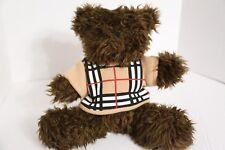 """Burberry Barrington 11"""" Sweater Parfum Teddy Bear Plush Toy Doll"""