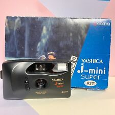 Boxed Near Mint Yashica J Mini Super, 35mm Camera,F3.5 Lens FILM TESTED