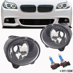 Pair For BMW E92 E93 F07 F10 F22 F23 M Sport Front Bumper Fog Light Bulb