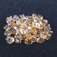 50Pcs/Set Aquarium Fake Stones Imitation Gems Crystal Decorations New – Brown