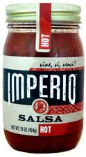 IMPERIO Authentic Mexican Salsa MILD, MEDIUM, HOT Handmade in Denver, Colorado