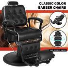 All Purpose Heavy Duty Hydraulic Black Recliner Barber Chair Salon Spa Beauty