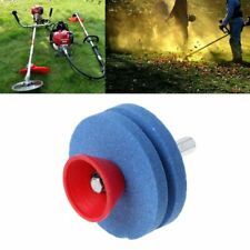 Lawn Mower Blade Sharpener Wheel Stone Grinder for Power Drill Hand Drill both