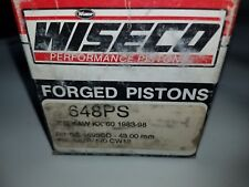 WISECO PISTON 648P8 1983-99 KAWASAKI KX60 45.00MM +.08MM