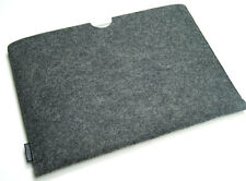 "MacBook Pro 15"" felt laptop sleeve case wallet - UK MADE, PERFECT FIT!"