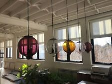 AUTHENTIC CAPPELLINI MADE IN ITALY MURANO GLASS 'MELT DOWN' PENDANT LIGHTS