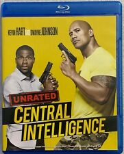 CENTRAL INTELLIGENCE UNRATED BLU RAY FREE WORLD WIDE SHIPPING BUY IT NOW COMEDY