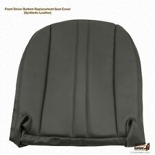 2000-2001 Chevy Express 1500 2500 3500 Driver Bottom Vinyl Seat Cover Dark Gray