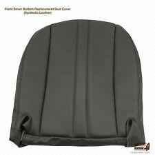 2000-2001 Chevy Express 1500 2500 3500 Driver Bottom Vinyl Seat Cover Dark Gray