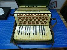 Akkordeon Sibylla Brand Schifferklavier Ziehharmonika  vintage Hartcase Pro-1278